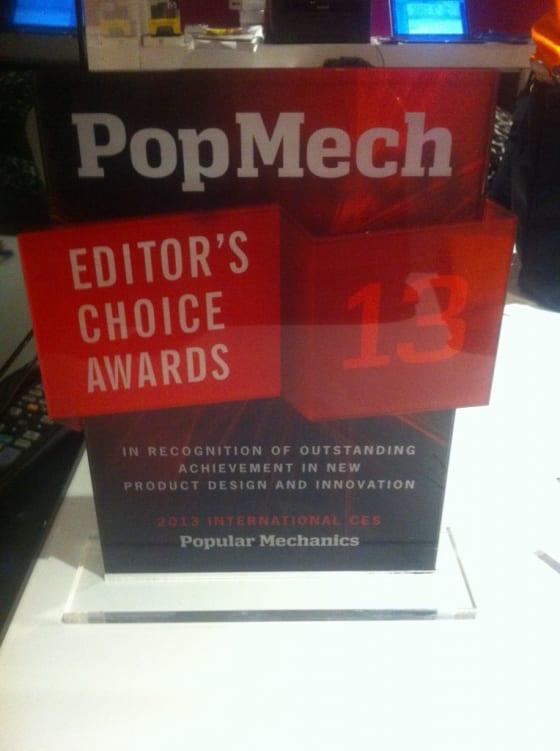 PopMech award