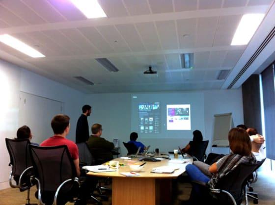 Web team weekly meeting on 19 September 2013