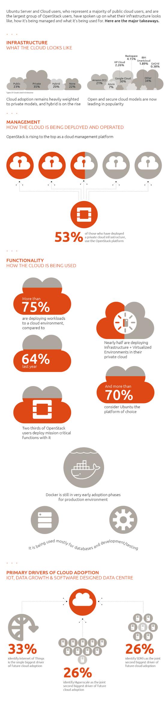 Cloud Survey Infographic