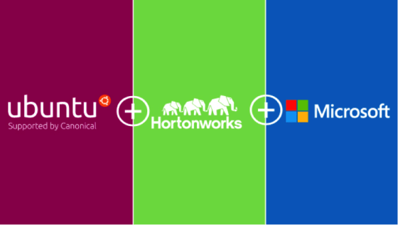 Ubuntu + HortonWorks + Microsoft
