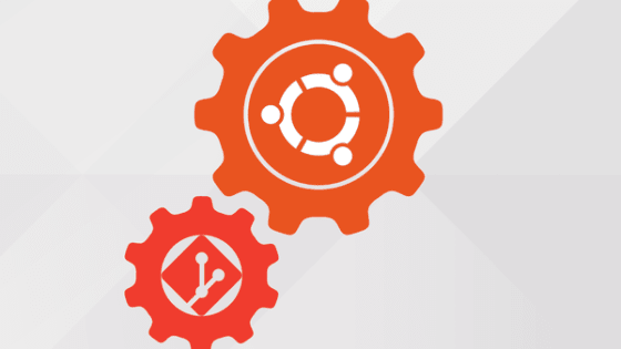 git ubuntu illustration