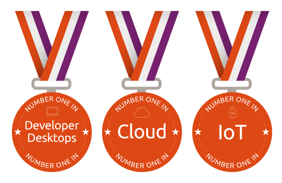 Ubuntu is the top distro in cloud, developer machines and IoT