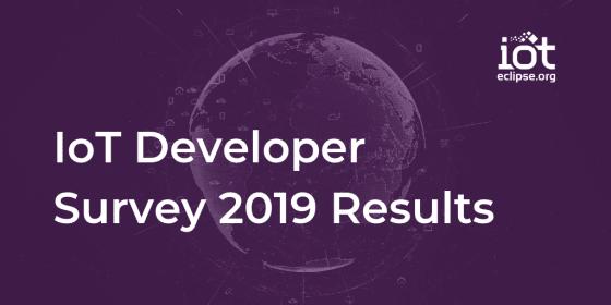 IoT Dev Survey 2019 Results