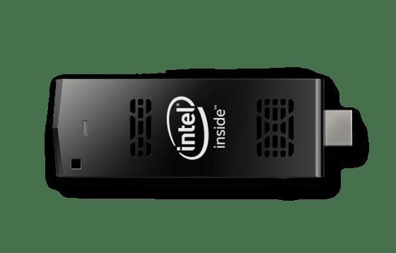 Intel Compute Stick Straight Horizontal