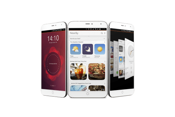Meizu MX4 Ubuntu Edition 1