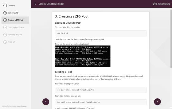 Tutorial setup a zfs storage pool ubuntu blog for Zfs pool design