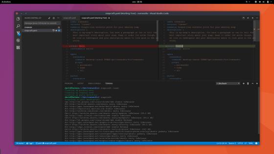 install visual studio code linux mint