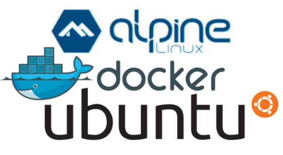 Ubuntu, Docker and Alpine