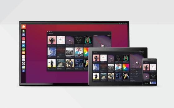 Ubuntu Converged Devices Representation