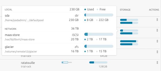 MAAS storage tooltip