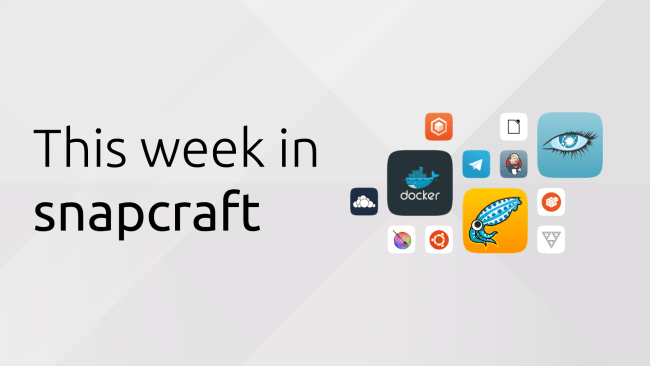 Week 35 of 2017 in snapcraft | Snapcraft