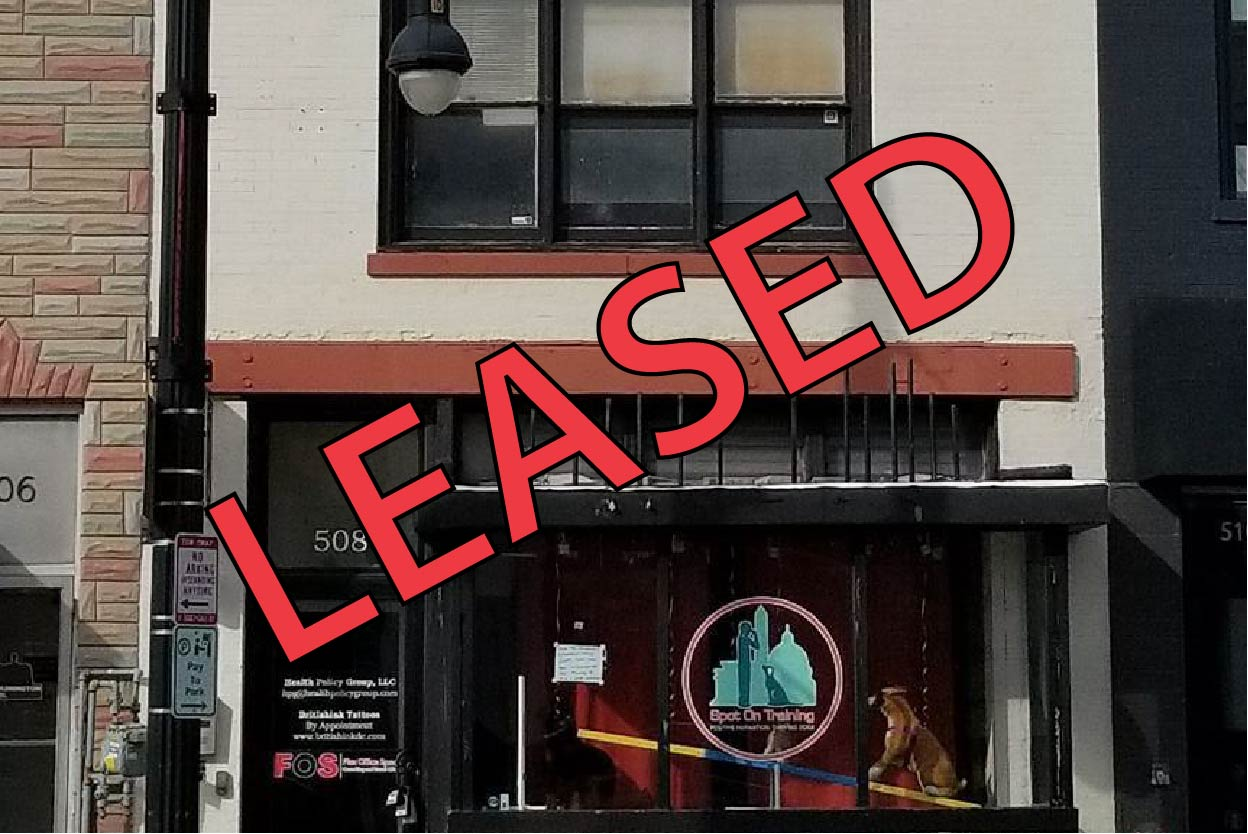 Leased 508 H Street
