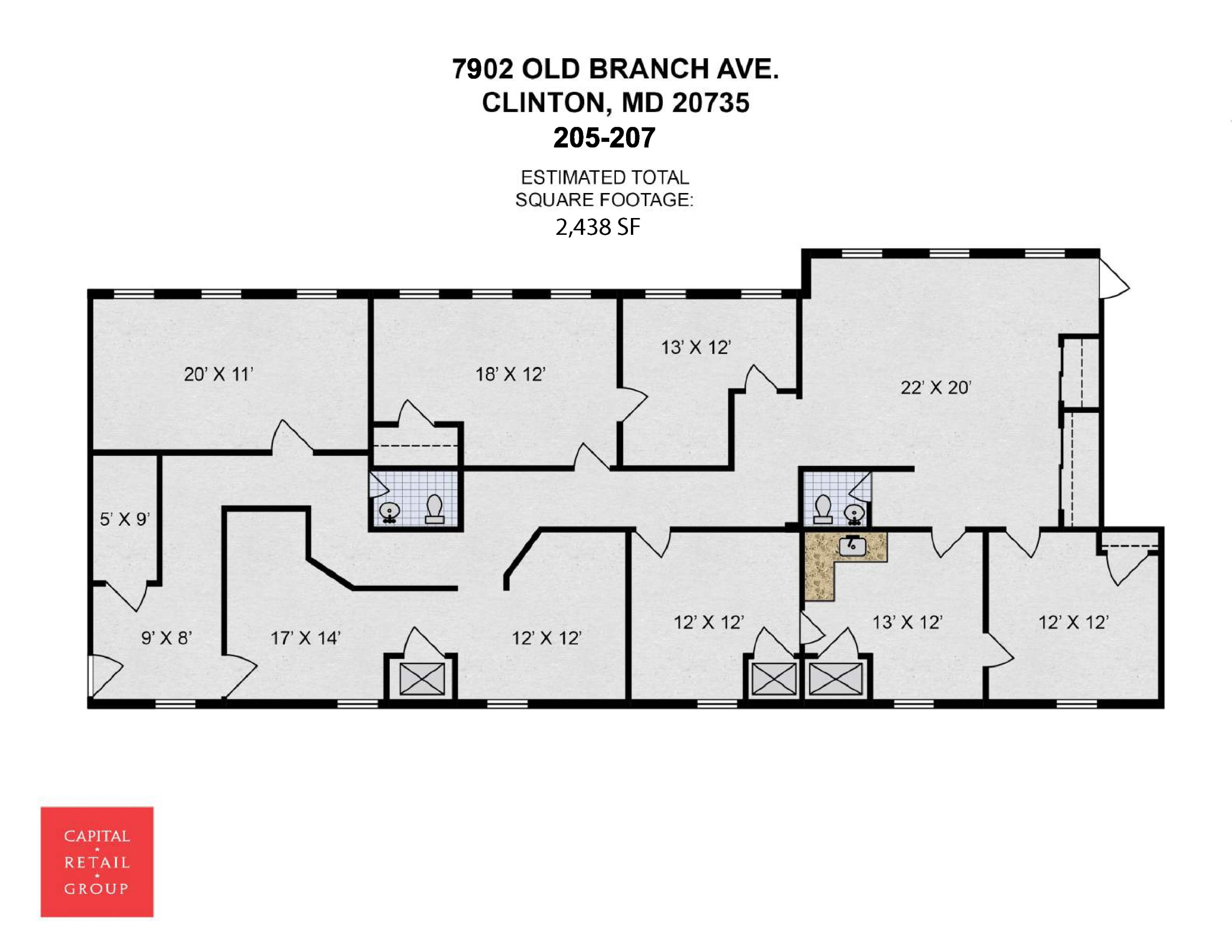7902 Old Branch Ave #205-207