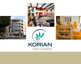 Korian villa d'albon