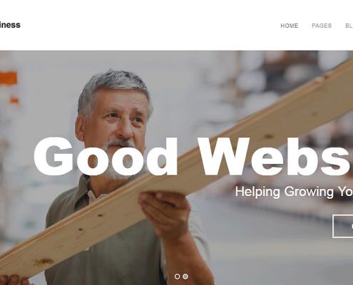 working-business - Wordpress Demo Website