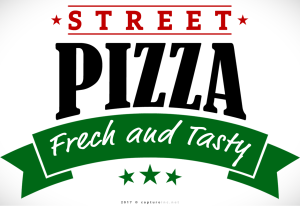 Street Pizza Logo