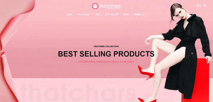 Fashion Shop - Wordpress Demo Website