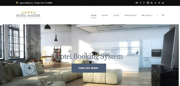 hotel - Wordpress Demo Website