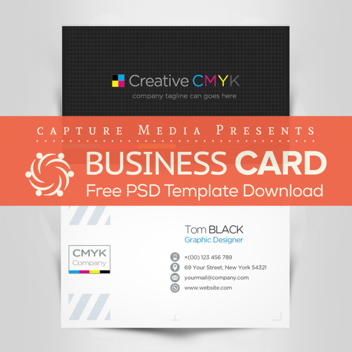 CMYK Business Card