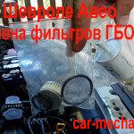 Два фильтра и прокладки для замены в ГБО-4