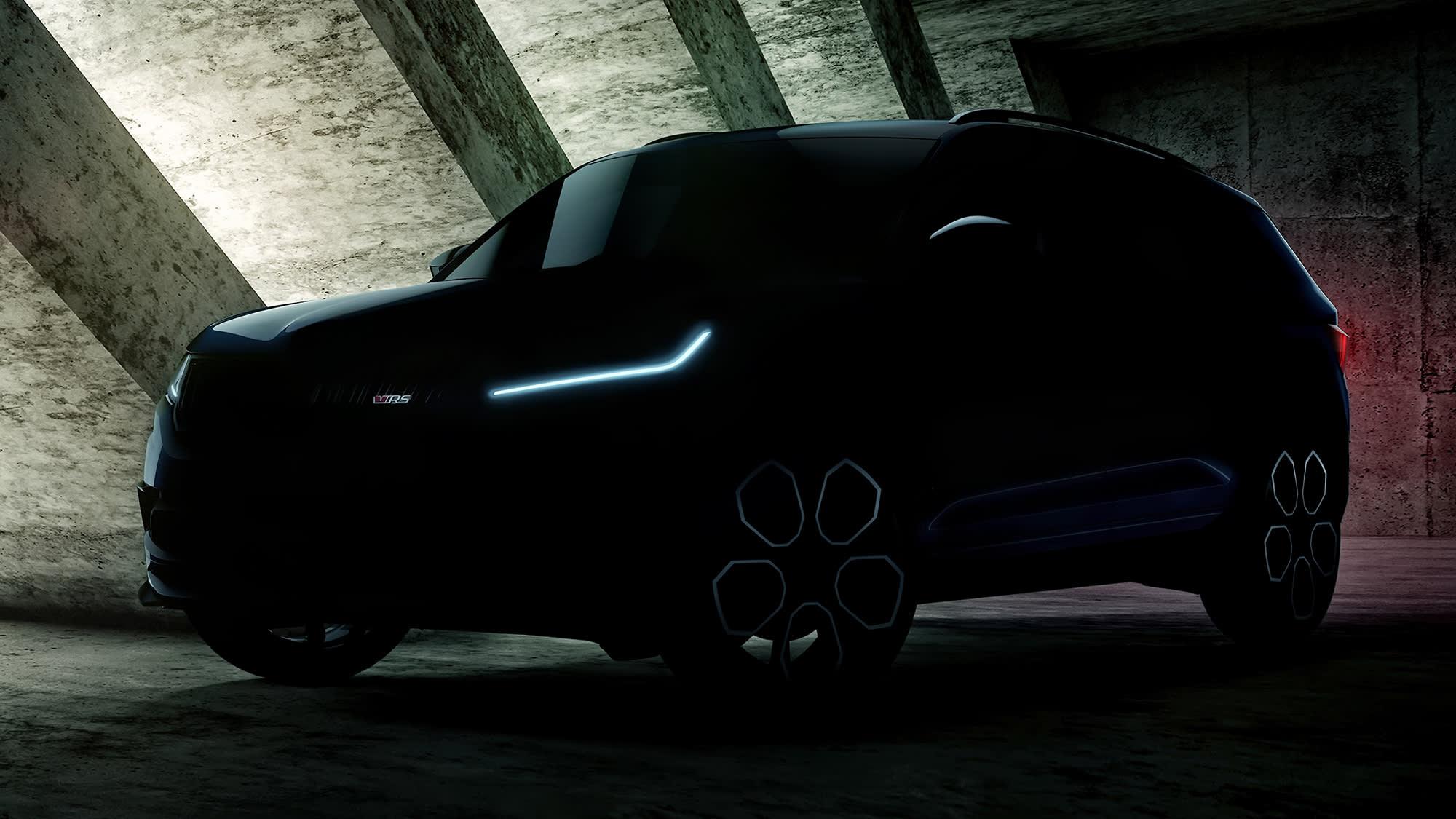 2019 Skoda Kodiaq RS teaser 2