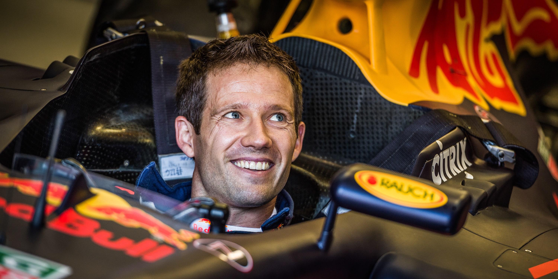 Sebastien Ogier drives Red Bull Racing RB7 1