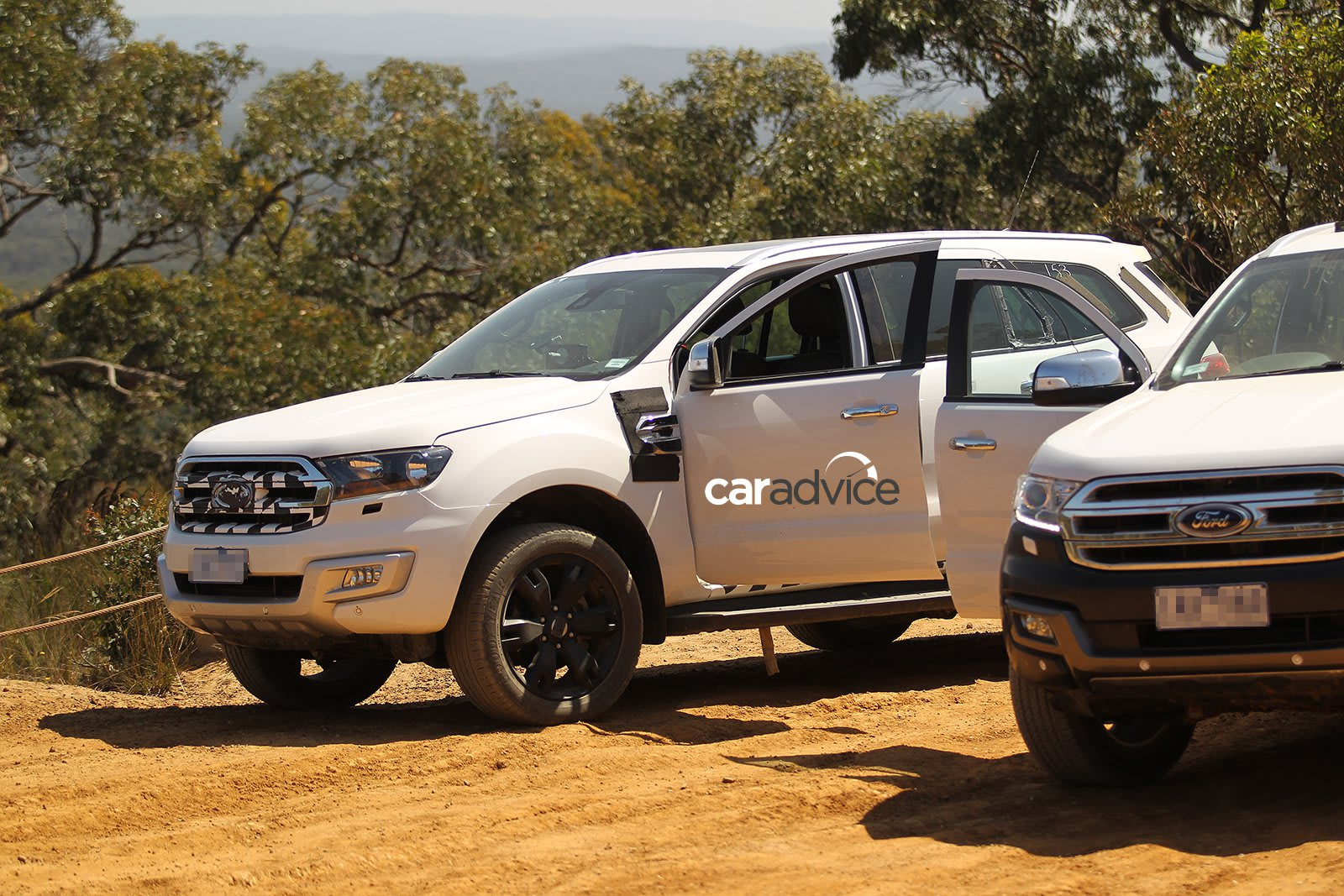 2015 Ford Everest Spied Victoria 2