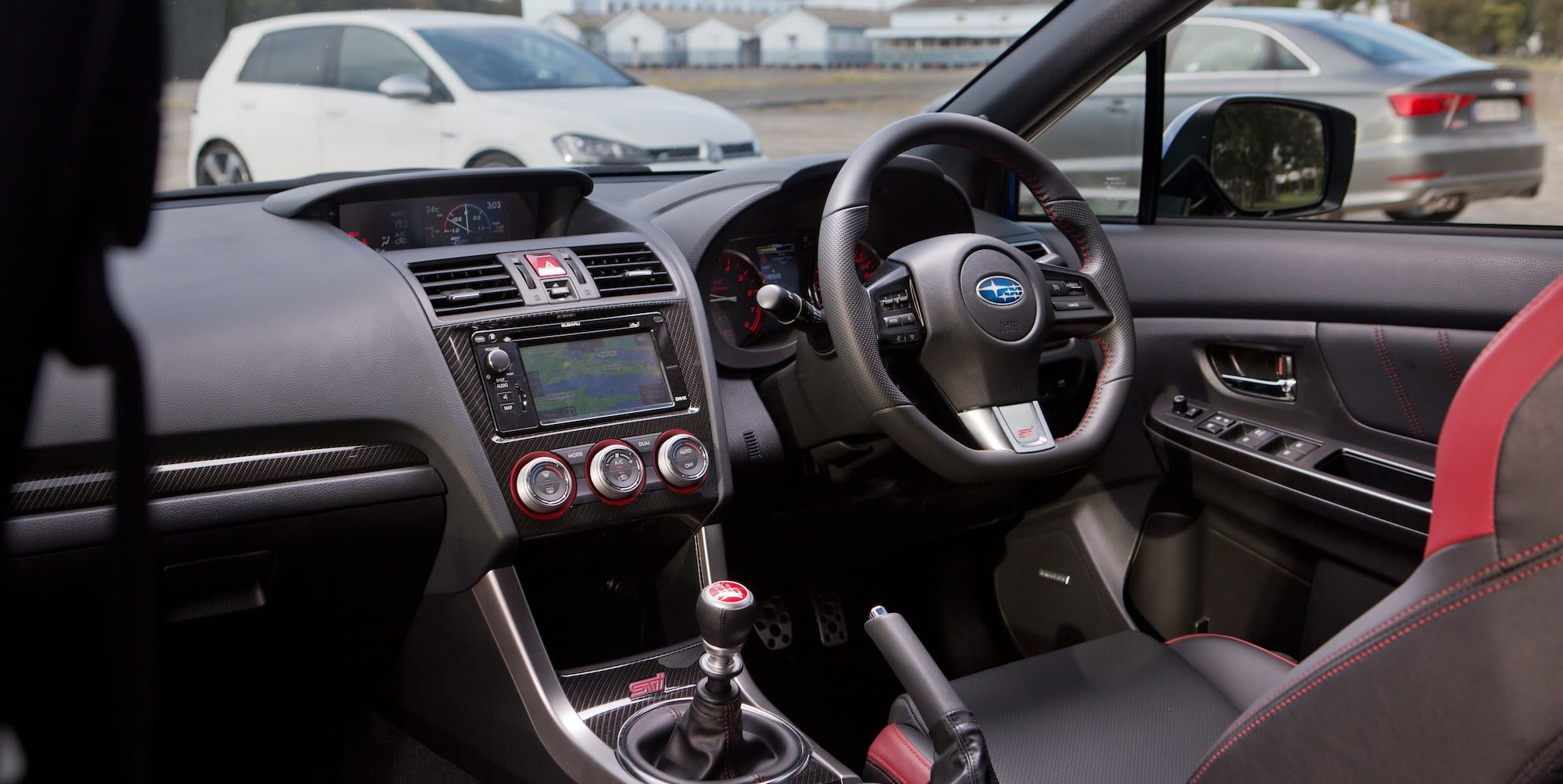 Subaru WRX STI Audi S3 Volkswagen Golf R 30