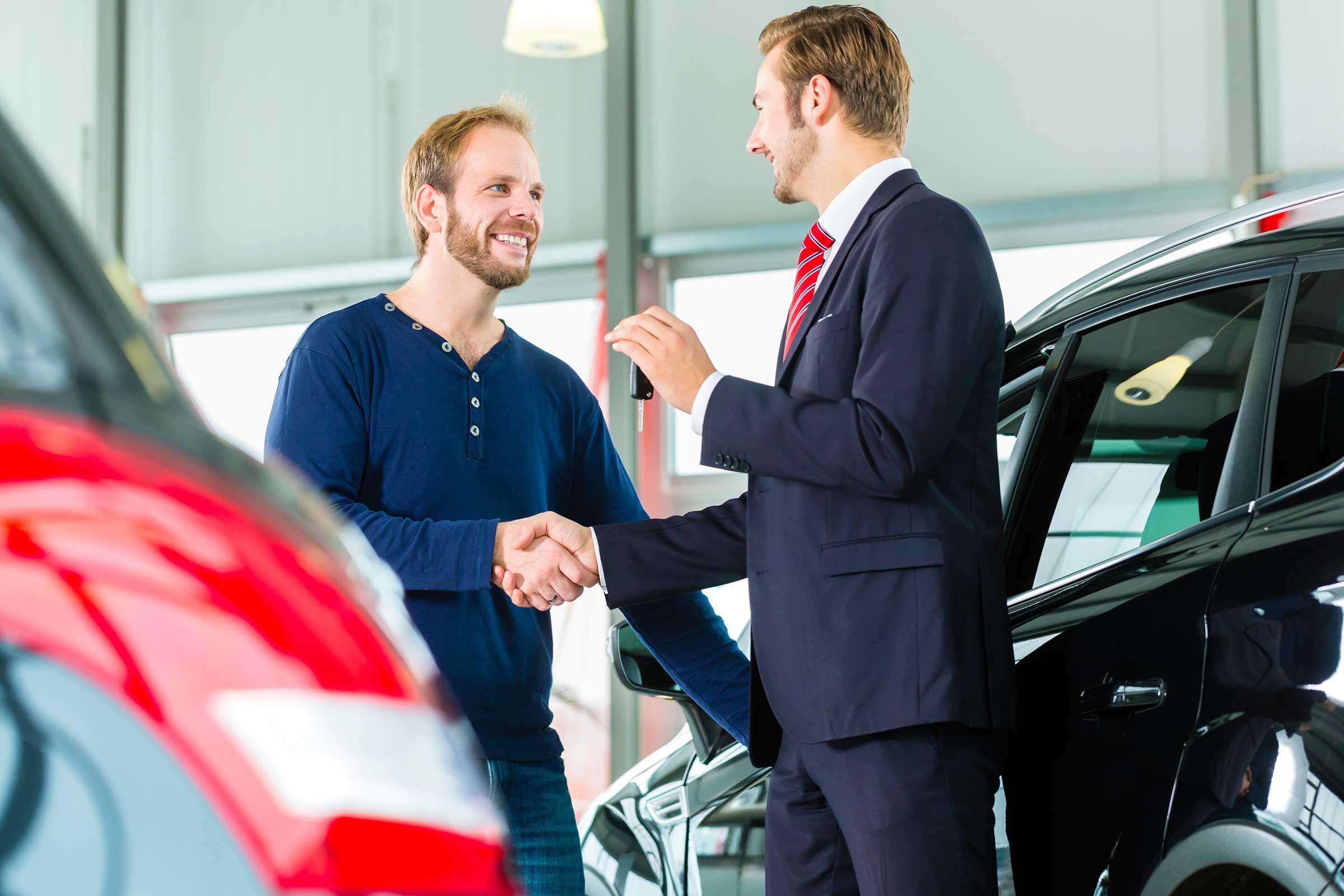 car dealer car showroom