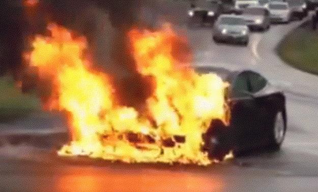 Teslaonfire