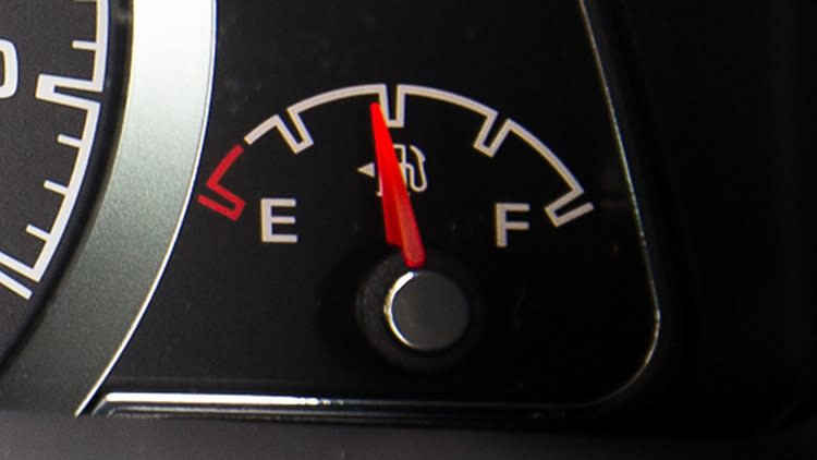 fuel gauge ford territory