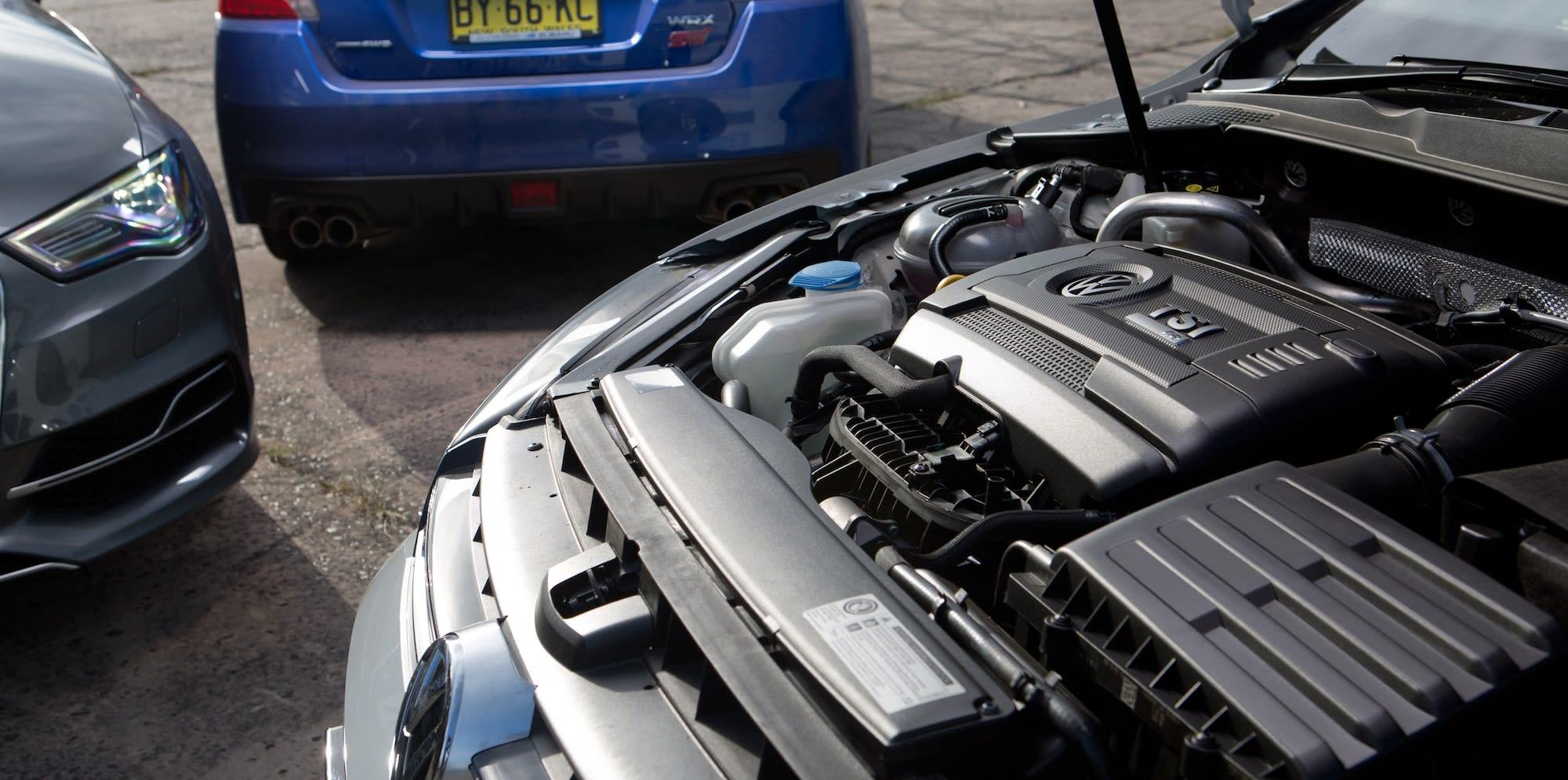 Subaru WRX STI Audi S3 Volkswagen Golf R 44