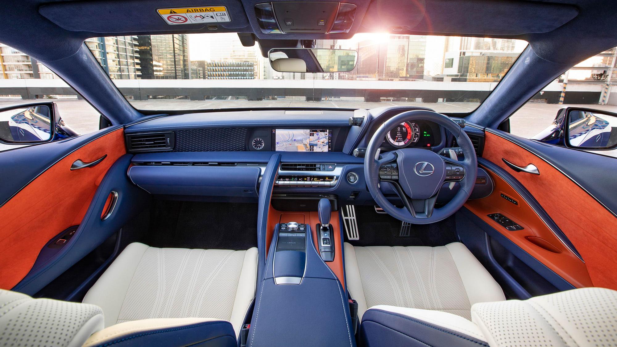 2018 Lexus LC Morphic Blue Limited Edition 41164 hr