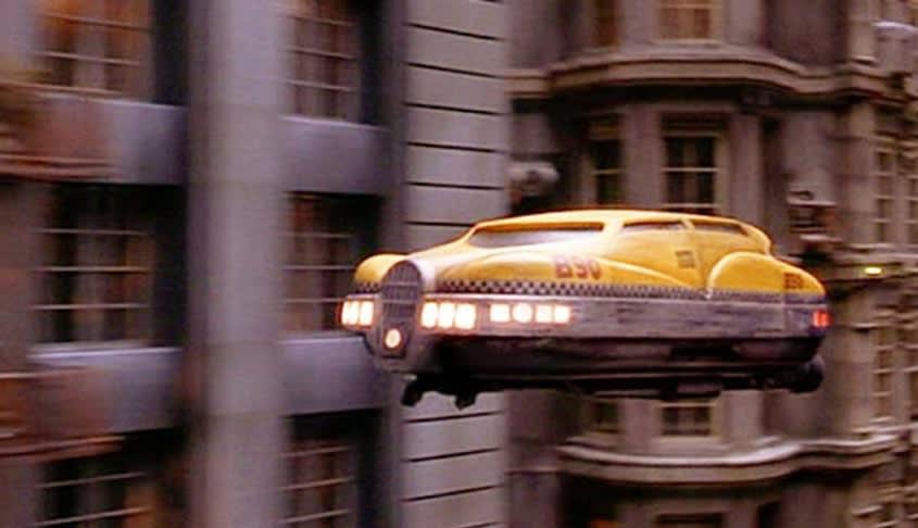 flying car fifth element