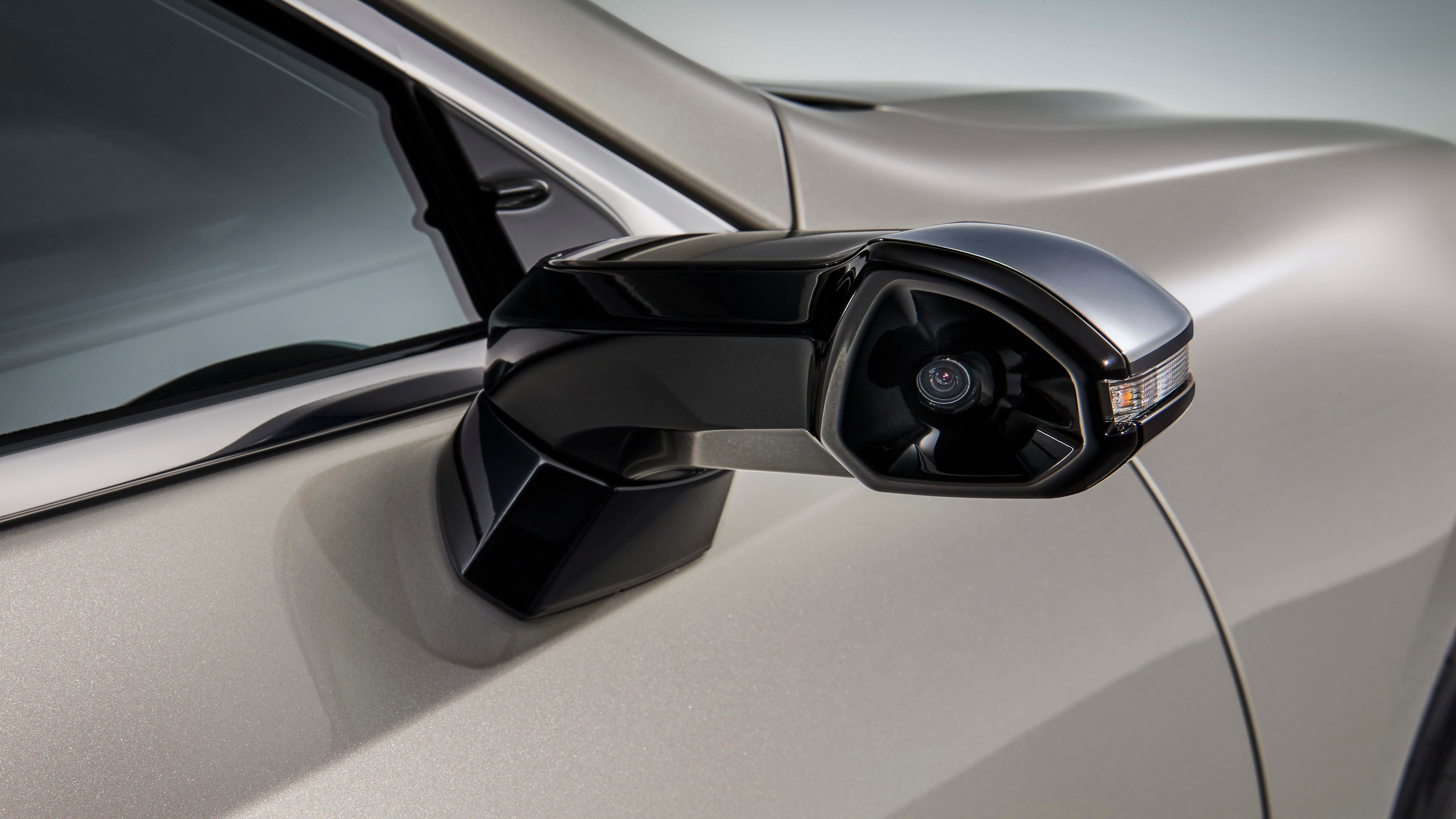 lexus es digital mirrors exterior