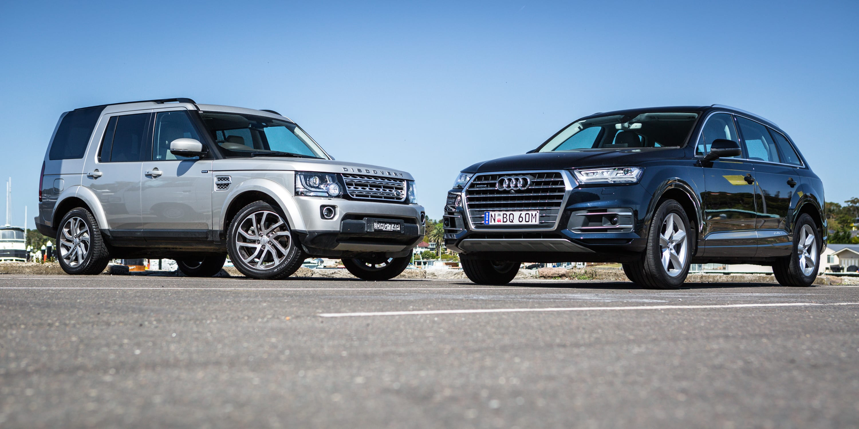 2017 Audi Q7 160kW VS Land Rover Discovery 4
