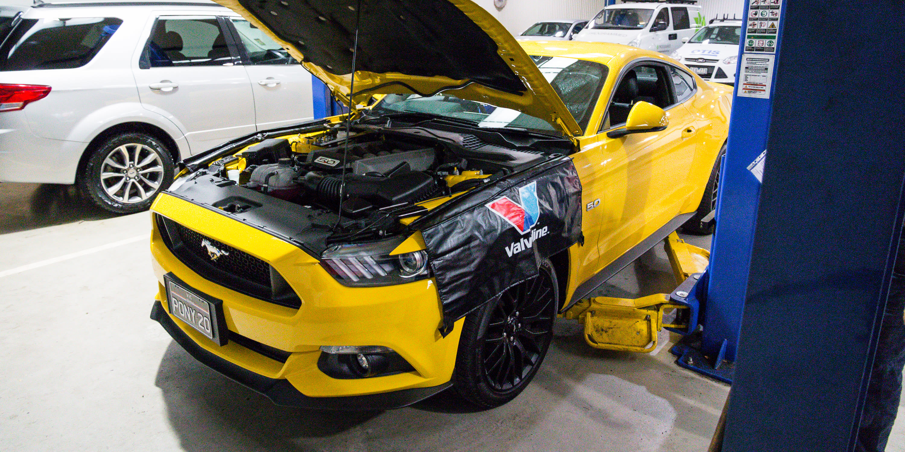 2017 ford mustang gt service 11