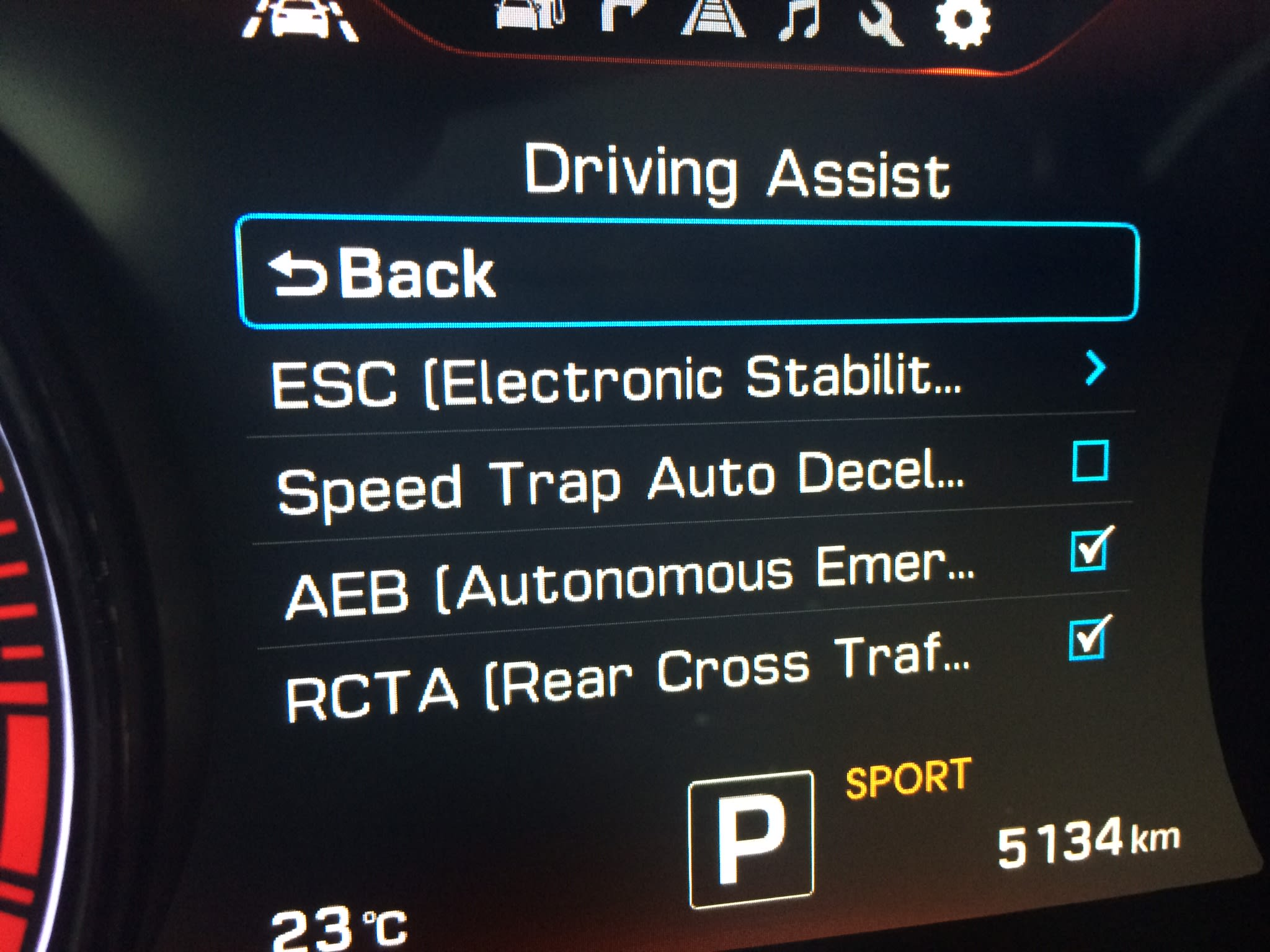 Speed Trap Auto Deceleration