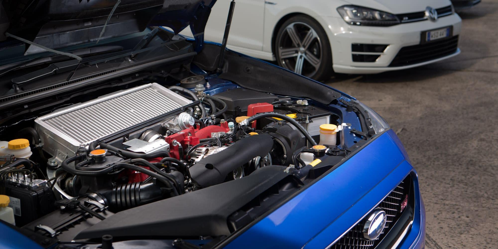 Subaru WRX STI Audi S3 Volkswagen Golf R 27