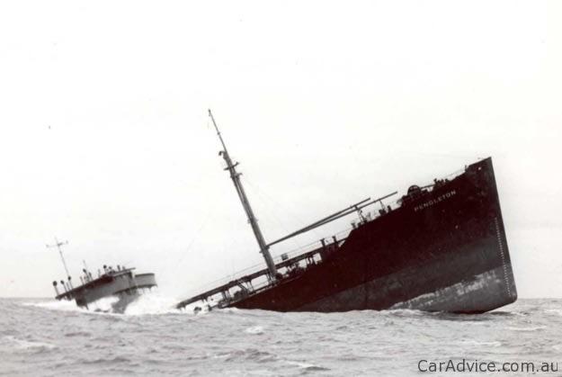 Pendleton Sinking Ship