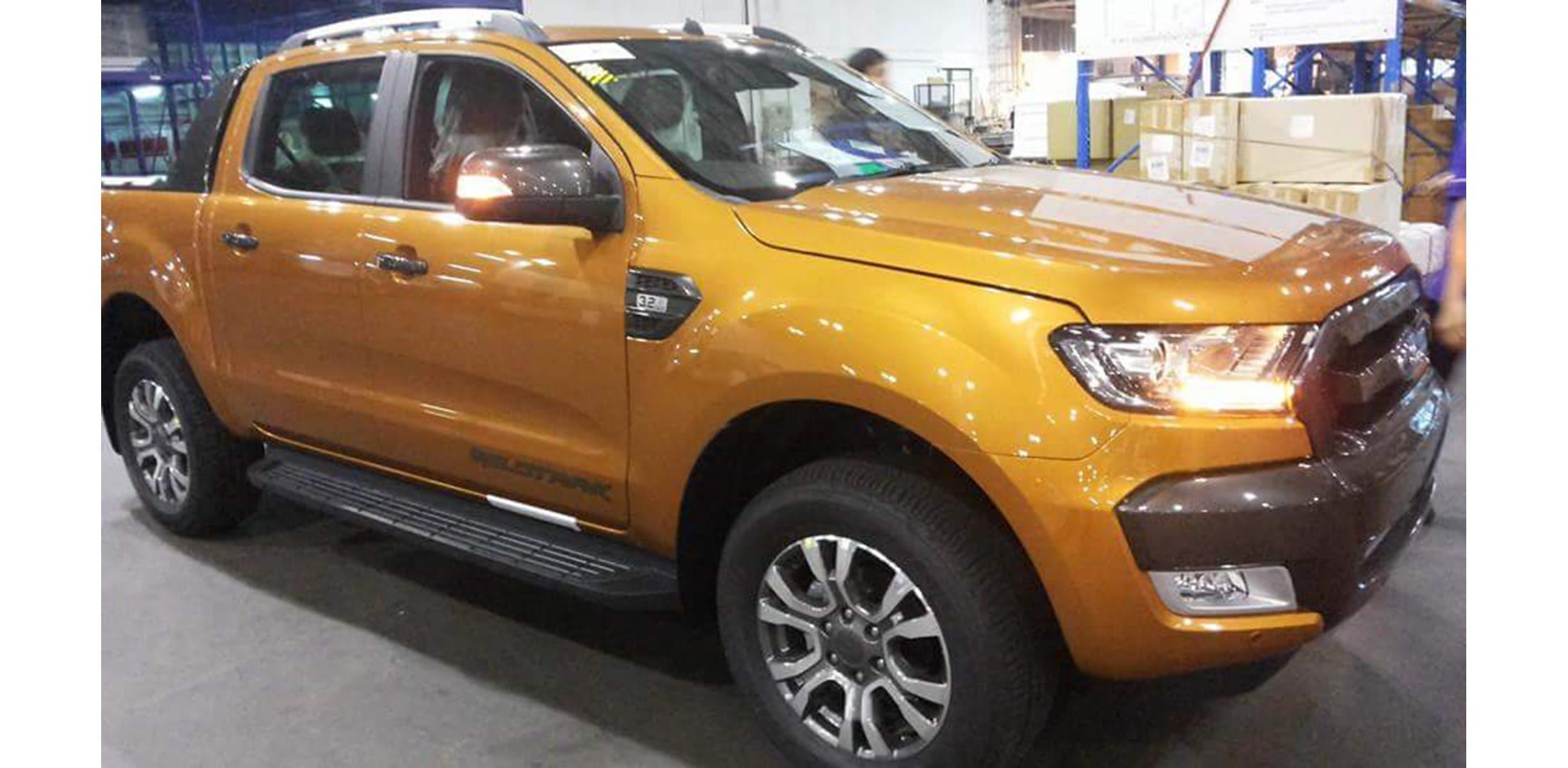 ford ranger wildtrak facelift hero