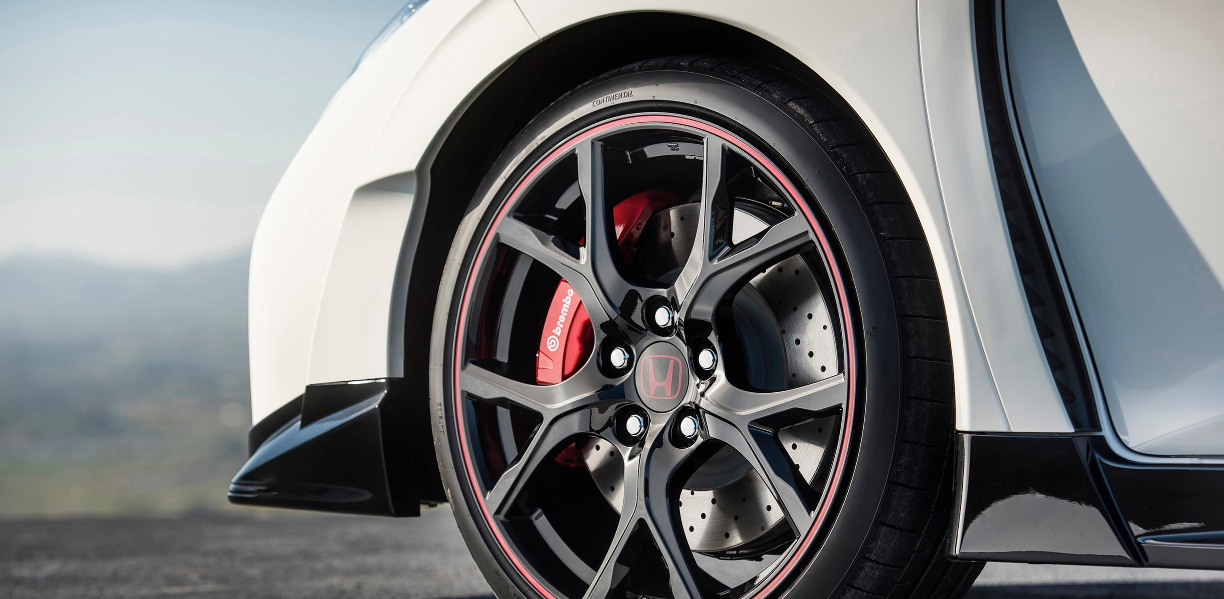 honda civic type r wheel vent