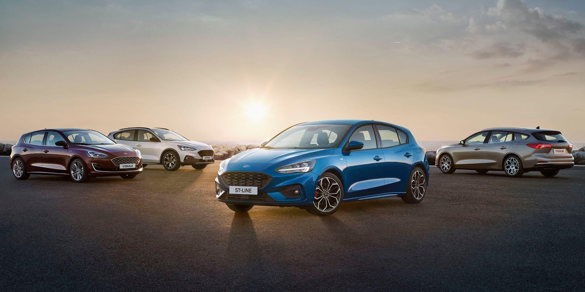 2019 ford focus range