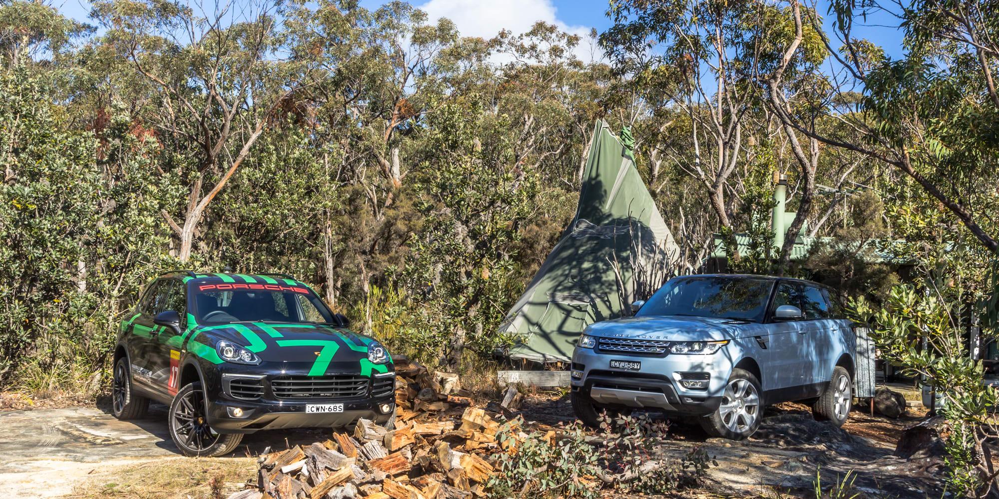 Porsche Cayenne v Range Rover Sport Hybrid Comparo 11