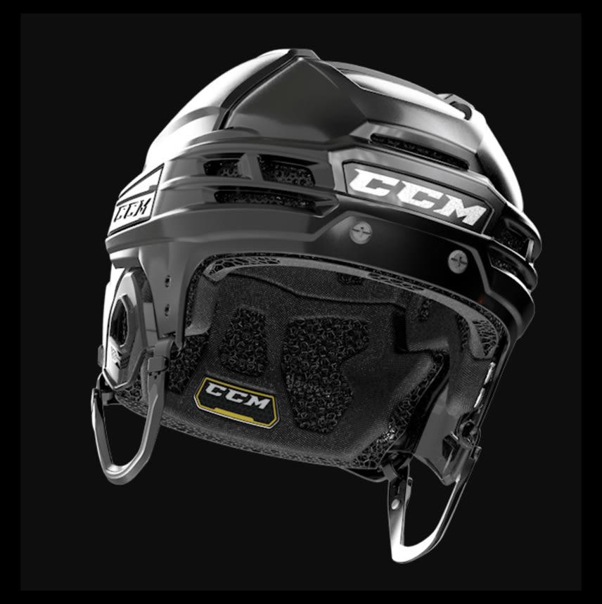 CCM: Super Tacks X with NEST Tech Helmet