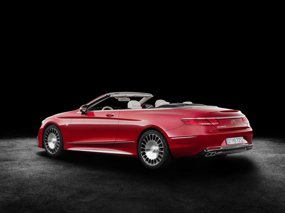 Mercedes-Maybach S65 Cabriolet