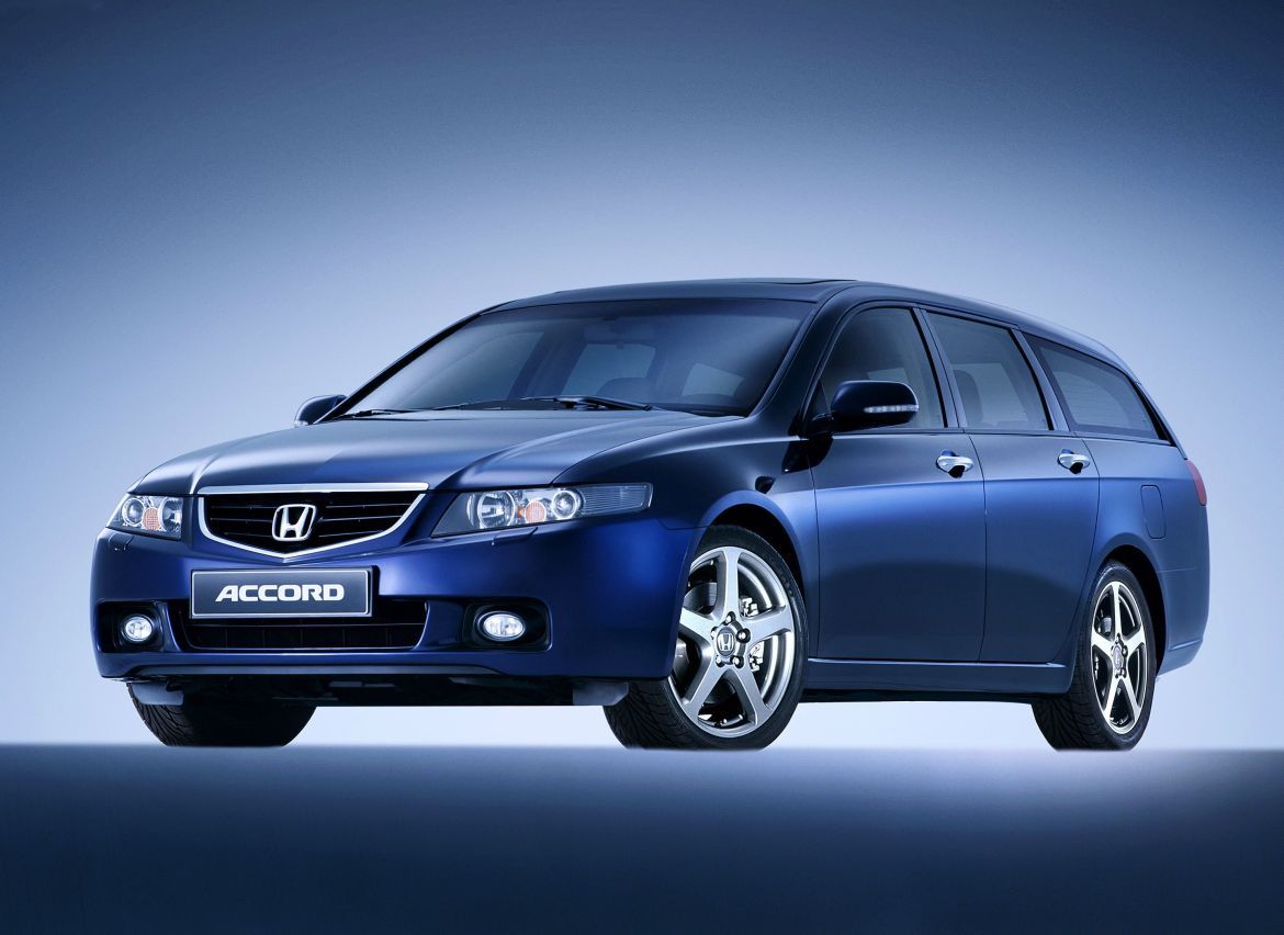 Blue Honda Accord