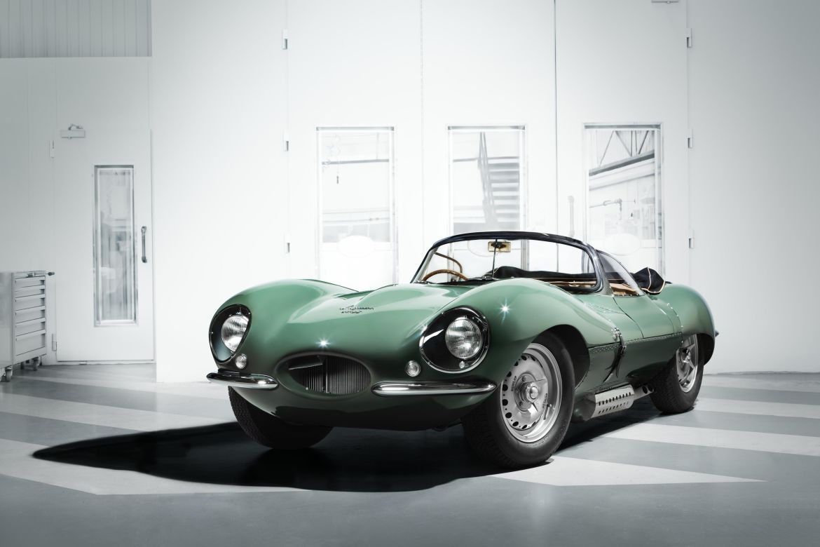 Green Jaguar XKSS