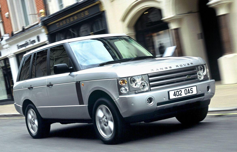 Silver Land Rover Range Rover