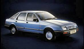 Blue Ford Sierra